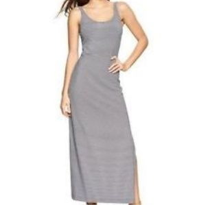 GAP ballet striped tank maxi dress